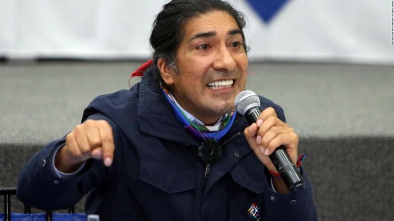 Yaku Pérez se refirió a Rafael Correa como la nueva derecha