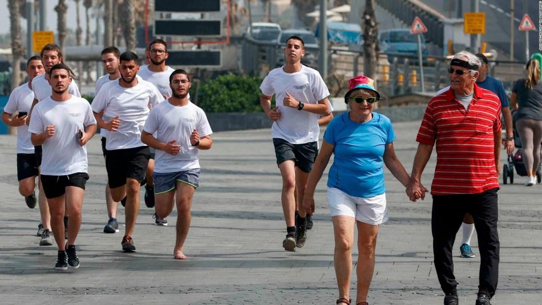 Israel, sin mascarillas al aire libre