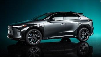 Mira el nuevo SUV eléctrico de Toyota, el BZ4X