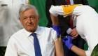 Por fin López Obrador se vacuna contra el covid-19