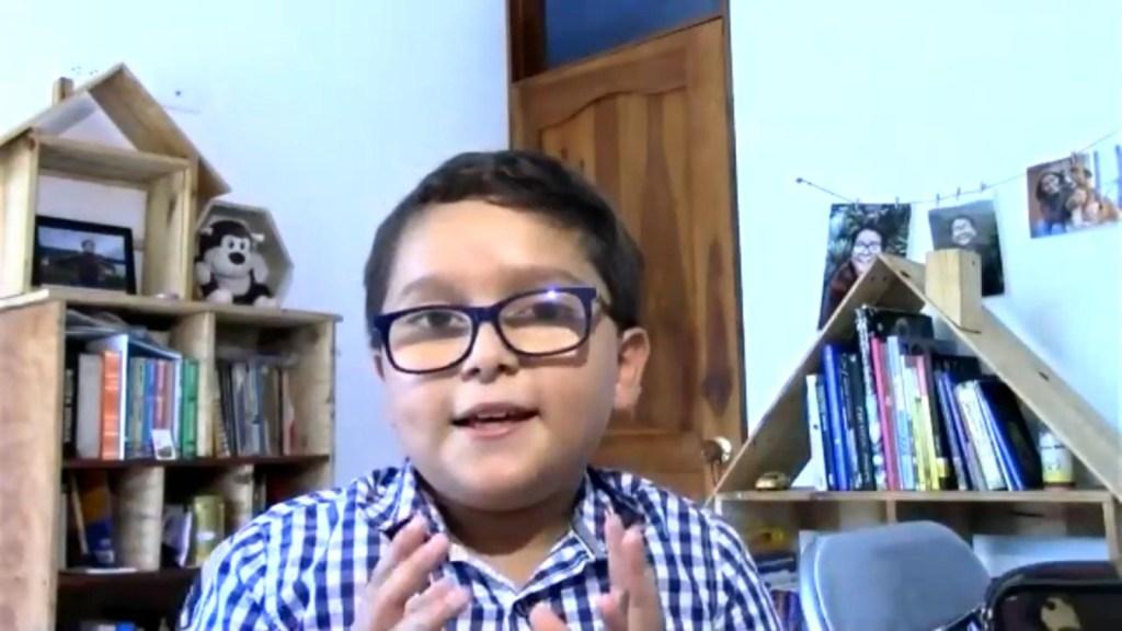Niño activista lucha por el medio ambiente