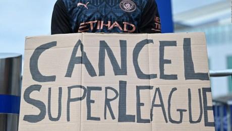 Chelsea y Manchester City buscarían salir de la Superliga