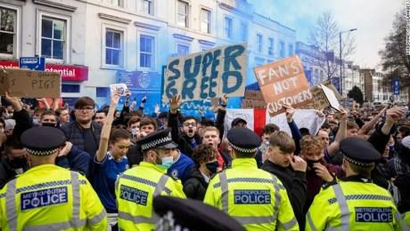 protestas Superliga