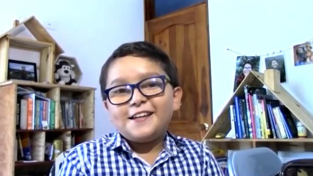 """Niño activista pide """"un cambio urgente"""""""