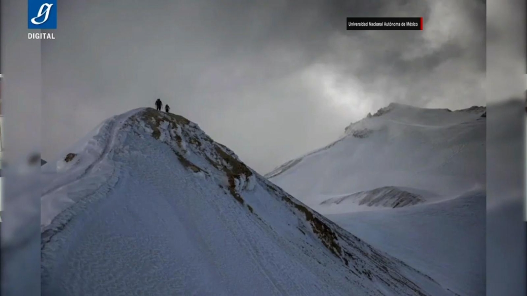 Se extingue glaciar del volcán Iztaccíhuatl en México