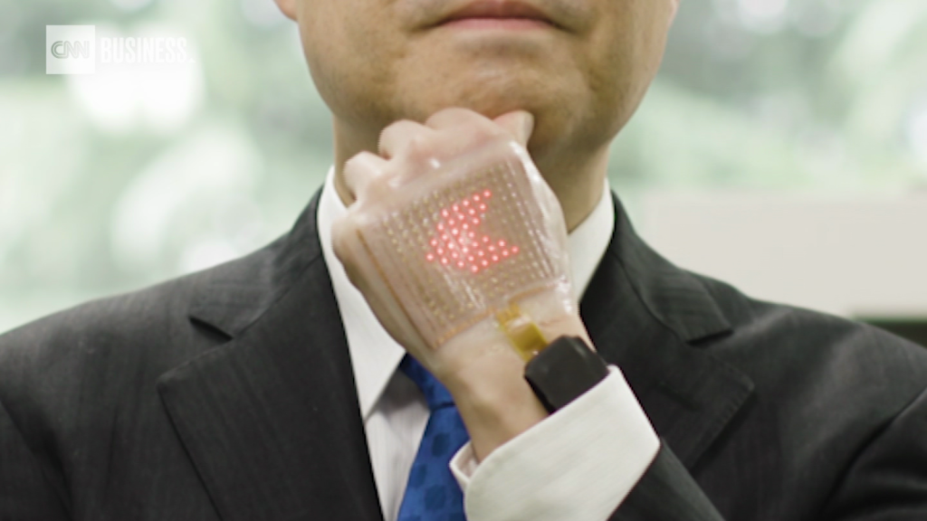 Meet the electronic skin that monitors health