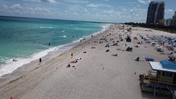 Las playas de Miami están en peligro por esto
