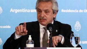 El mensaje de Alberto Fernández contra el cambio climático