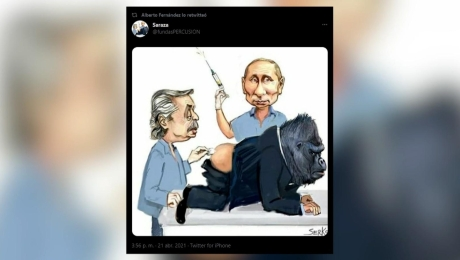 Polémica por retuit del presidente Alberto Fernández