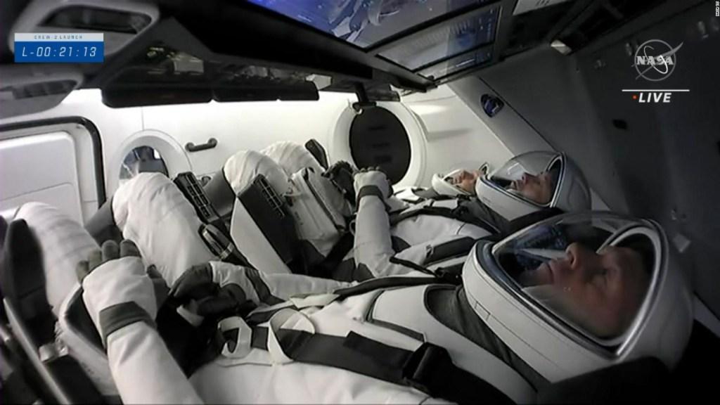 Estudian la salud ocular en los astronautas