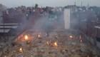 Cremaciones en la India en medio de la crisis por covid-19