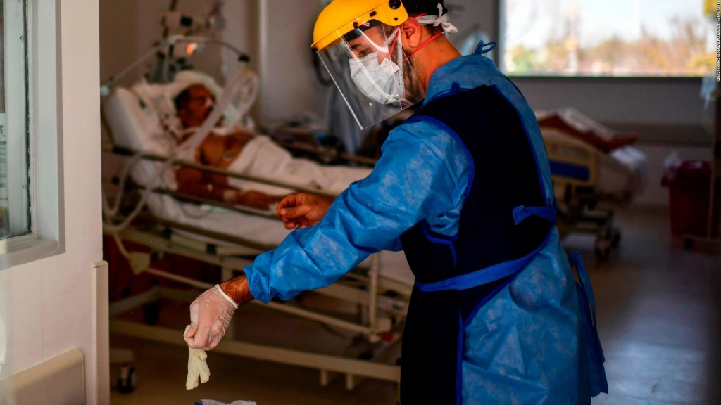 The occupancy of intensive care beds in Buenos Aires grows