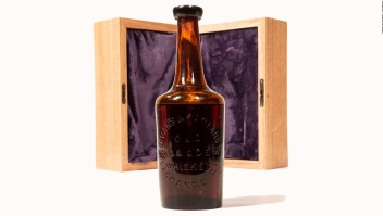 Esta botella de whisky podría costar miles de dólares