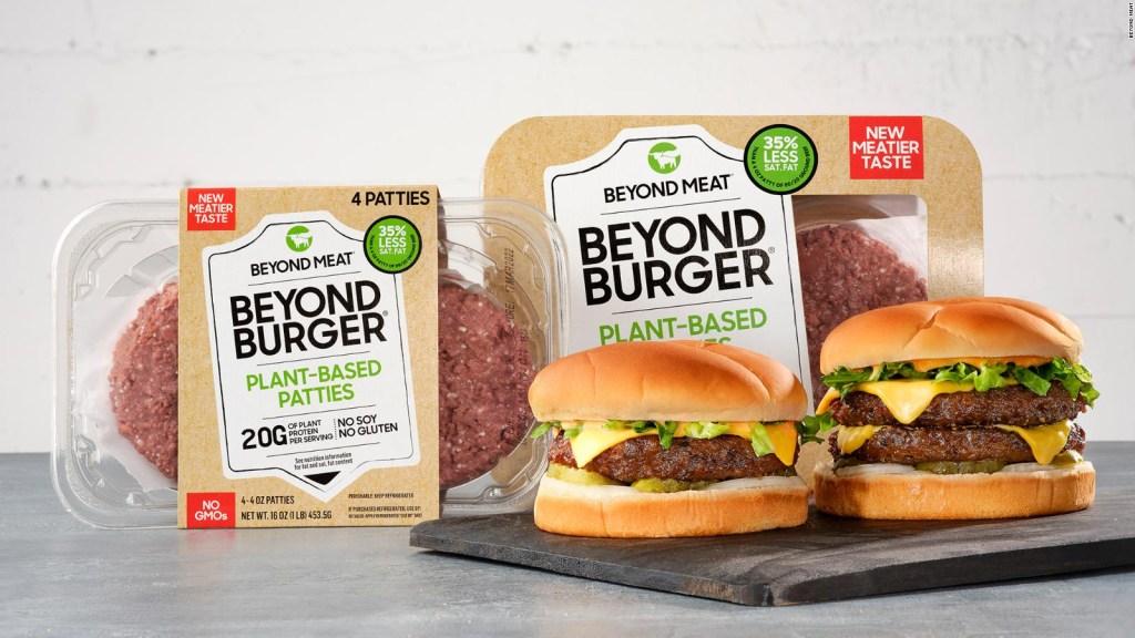 Beyond Meat renueva hamburguesa sabor a carne de res real