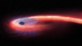 """Astrónomos ven silueta de estrella """"espaguetizada"""""""