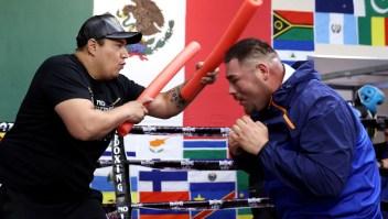 Andy Ruiz, en el mejor estado físico de su carrera