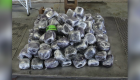 Decomisan metanfetamina escondida en envío de pepinos