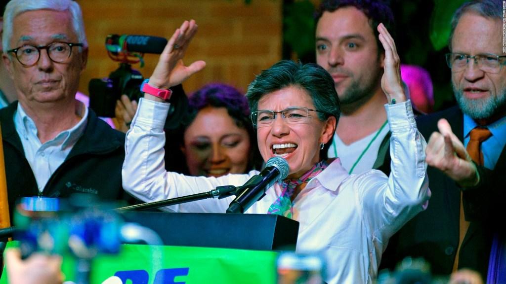 ¿Quiere la alcaldesa de Bogotá ser presidenta de Colombia?