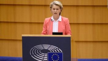 Von der Leyen habla sobre el sexismo que enfrentó en Turquía