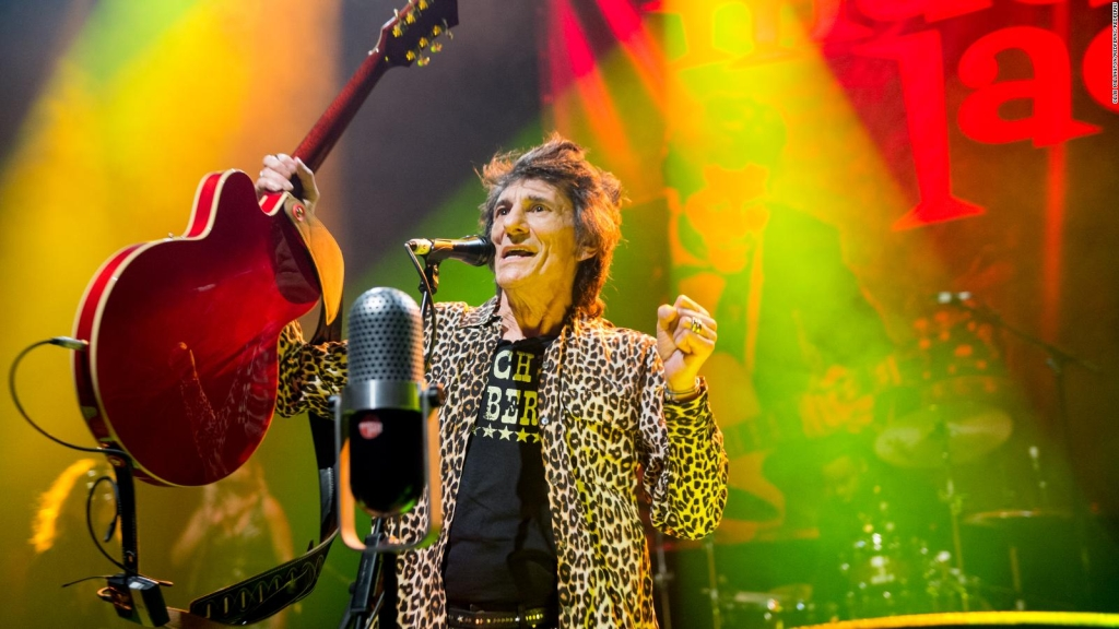 Ronnie Wood parle de son combat contre le cancer