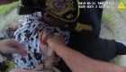 Policía tira del cabello a una mujer negra en un control
