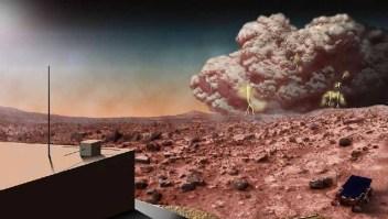 Mitos y verdades sobre las tormentas de polvo en Marte