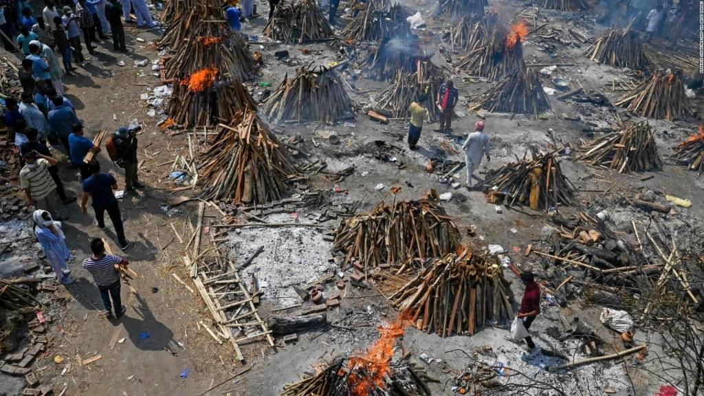 Colapso en India por la pandemia de covid-19
