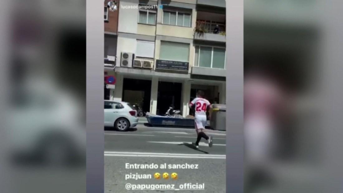 """""""Papu"""" Gómez vuelve a hacer de las suyas con un video viral"""