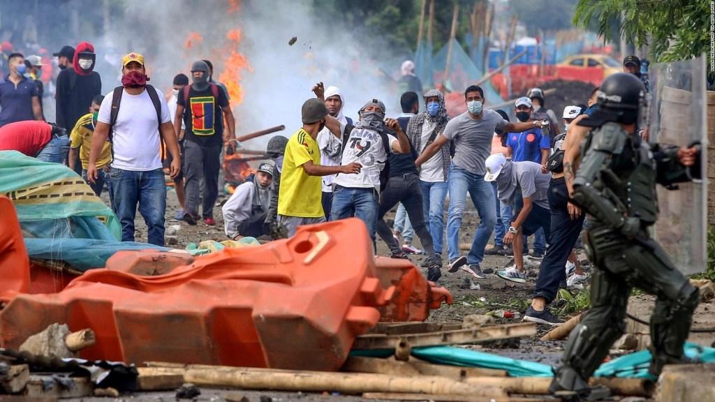 Suman esfuerzos en Colombia para contener las protestas