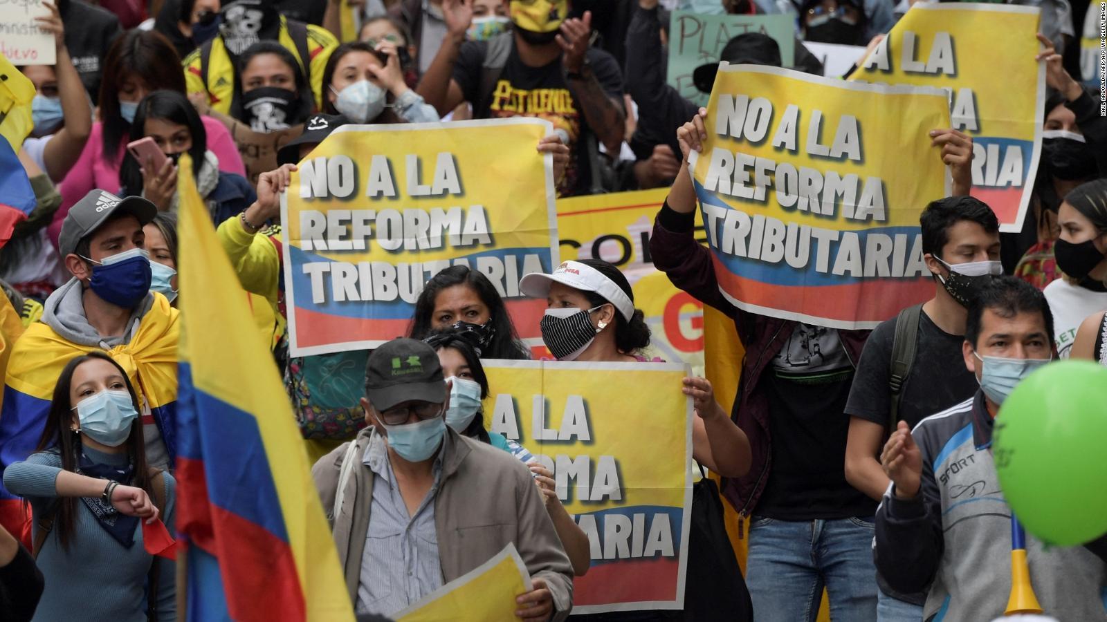 Protestas en Colombia por reforma tributaria: guía para entender el  descontento social