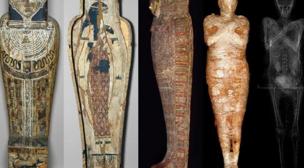 Histórico: descubren la primera momia egipcia embarazada