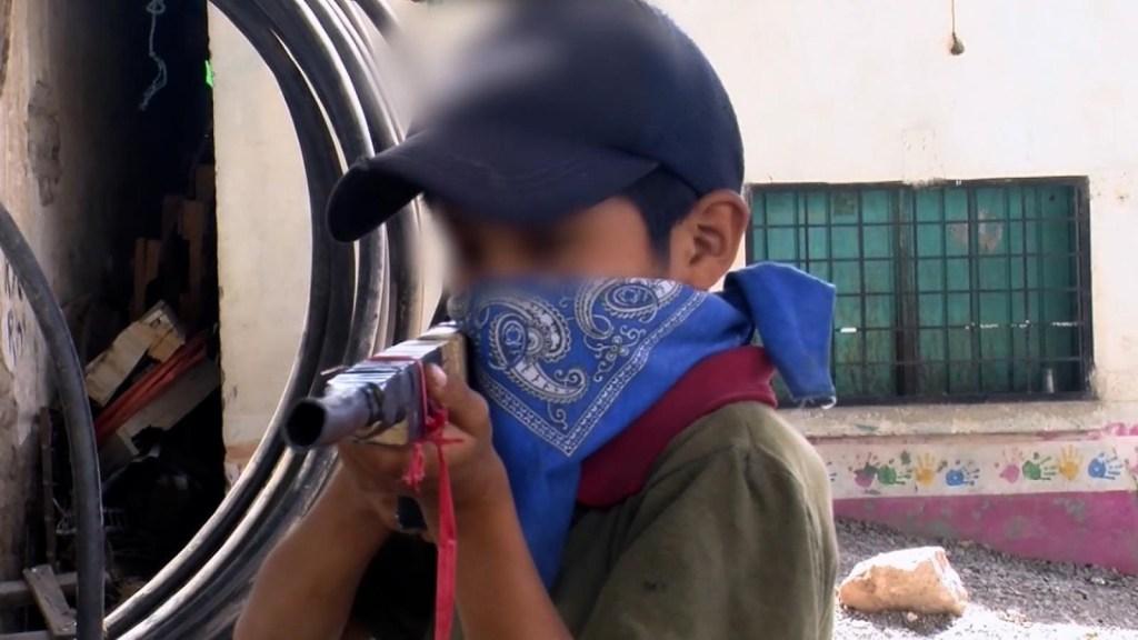 """""""No nos dejan vivir en paz"""", el clamor de niños armados"""