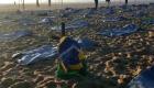 400 bolsas para cadáveres en la playa de Copacabana