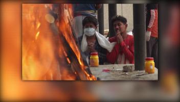 El rostro de la desesperación de la India