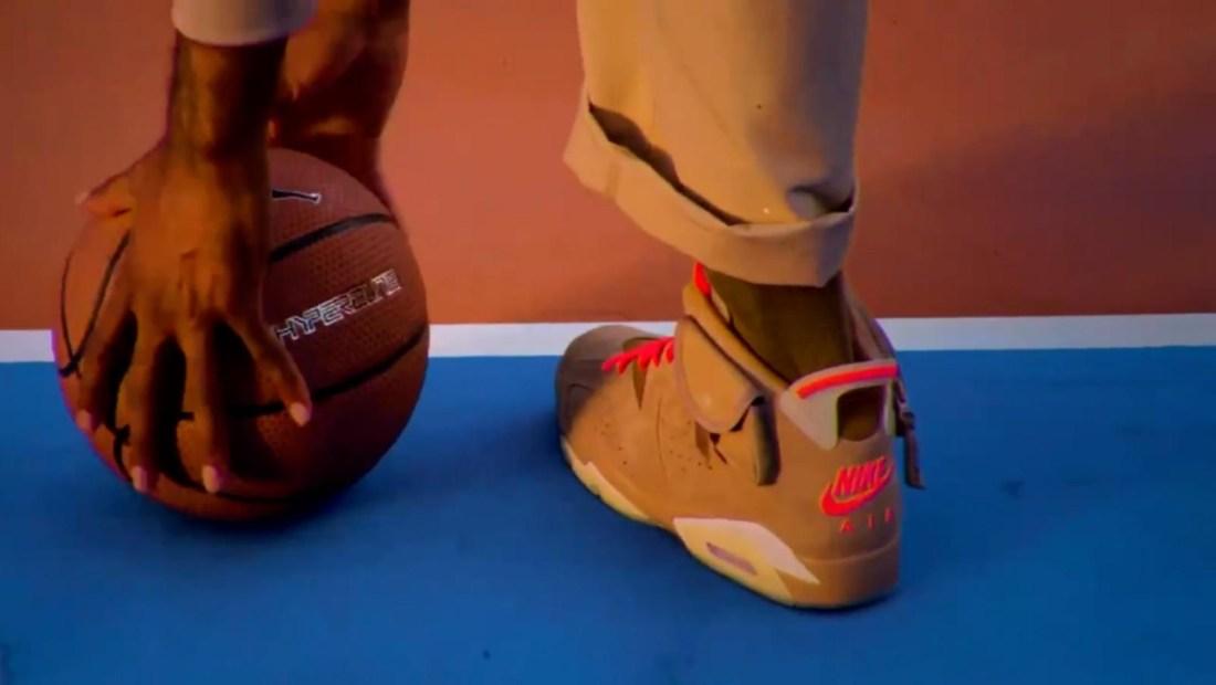 Travis Scott lanza su modelo de zapatos deportivos