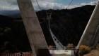 Mira el puente colgante más largo del mundo