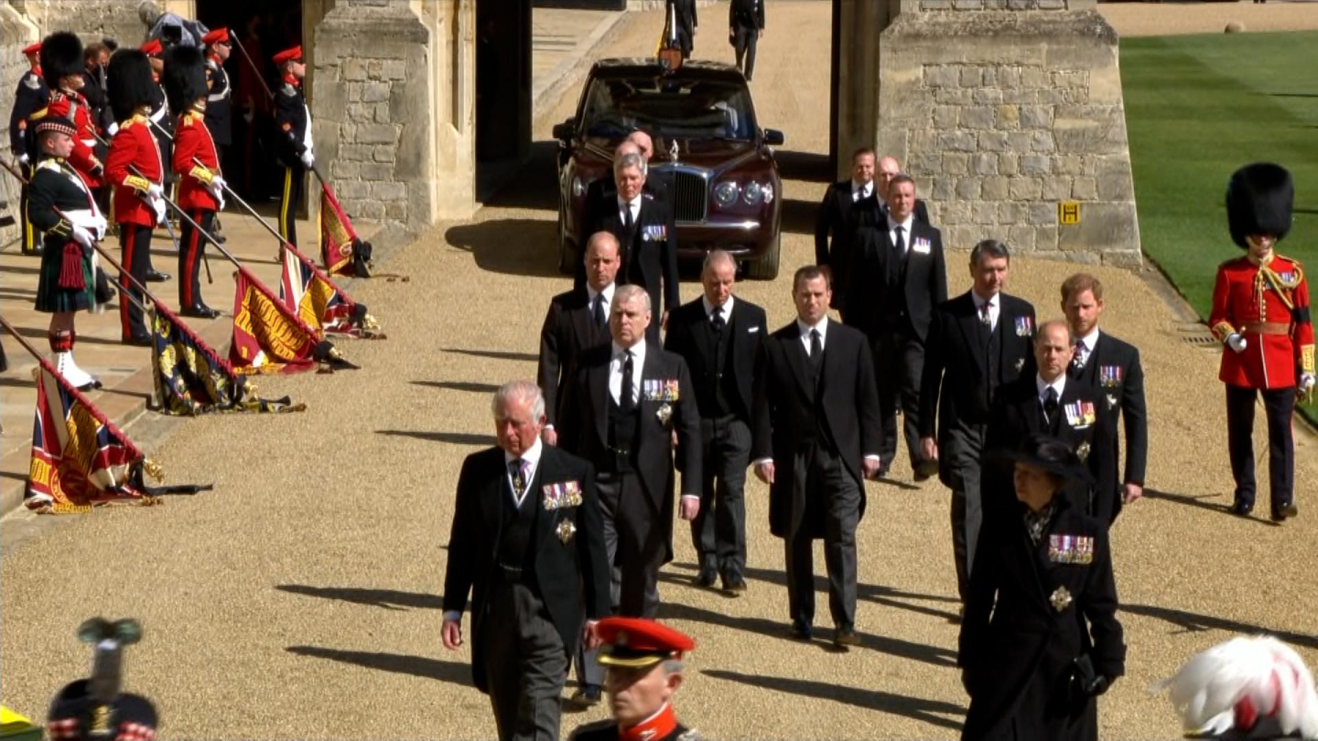 Funeral príncipe Felipe, duque de Edimburgo