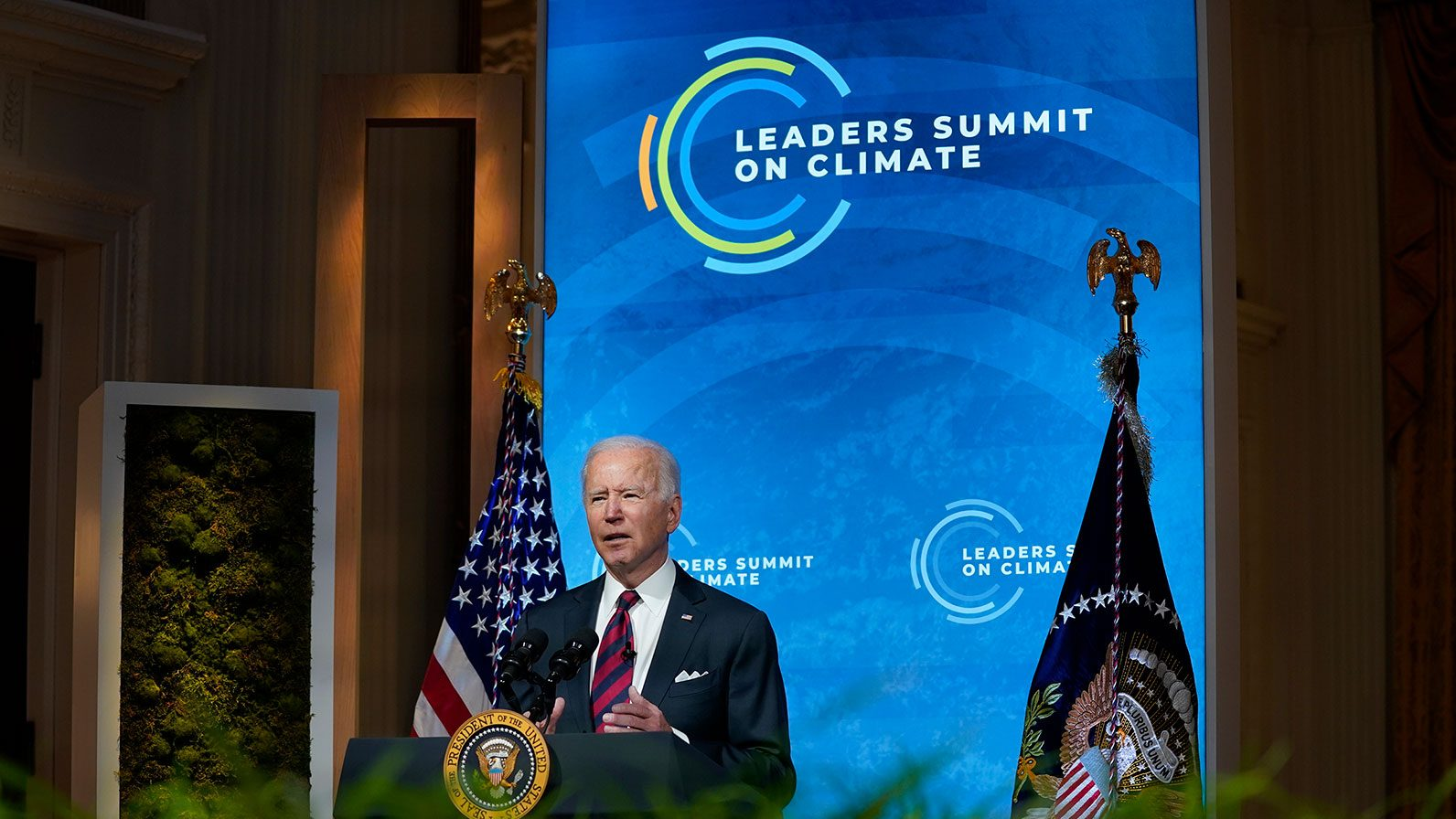 Biden cumbre climática emisiones