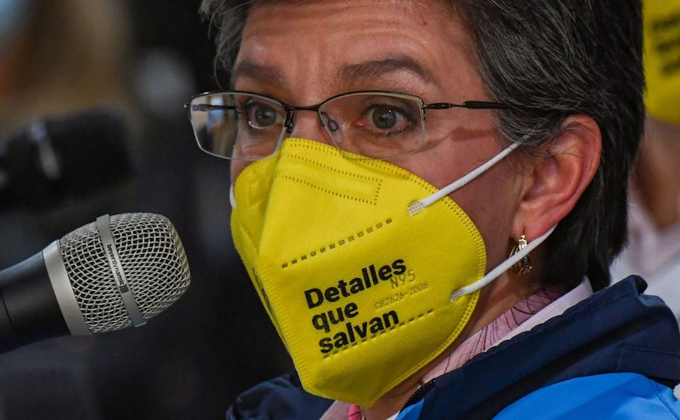 Bogotá alcaldesa