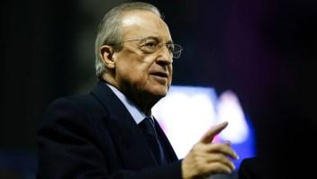 Florentino Pérez, presidente Real Madrid