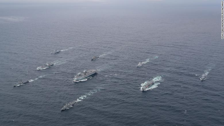 flotilla reino unido