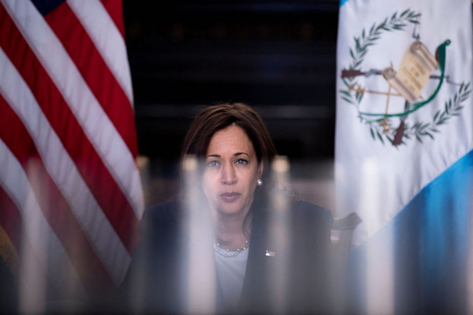 Kamala Harris Centroamérica