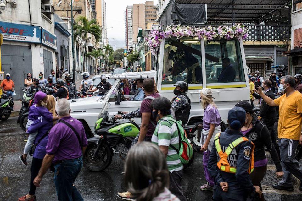 Nazareno de San Pablo Venezuela Semana Santa