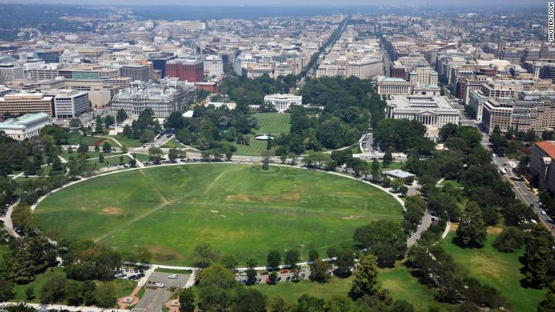 US investigates possible mysterious attack near White House
