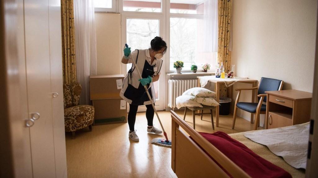 coronavirus limpieza casa getty