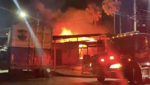 Incendio El Salvador