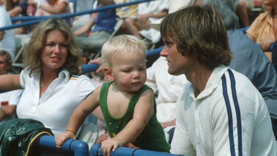 Chrystie Scott and their son Casey