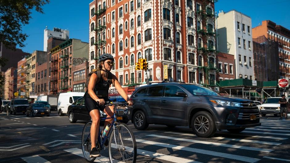 Ciclistas en las calles