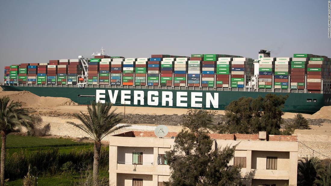 Egipto incauta el barco Ever Given como indemnización de más de US$900 millones por el Canal de Suez