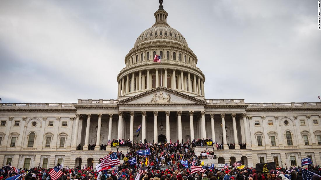Capitol Police reportedly said they were only monitoring anti-Trump protesters on Jan. 6